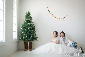 クリスマススタジオフォト