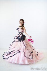 カラードレス撮影